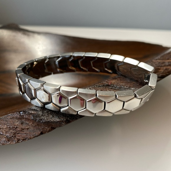 Fossil | Stainless Steel Silver Stretch Bracelet